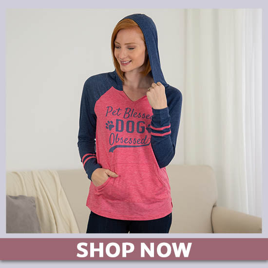 Pet Blessed Varsity Hooded Tee - Shop Now