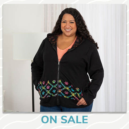 Paws & Love Hooded Jacket - On Sale