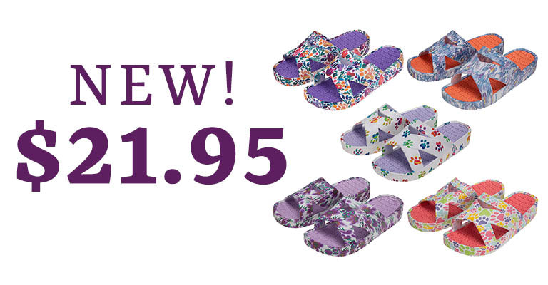 Celebration Paws Criss-Cross Sandals | New | $21.95