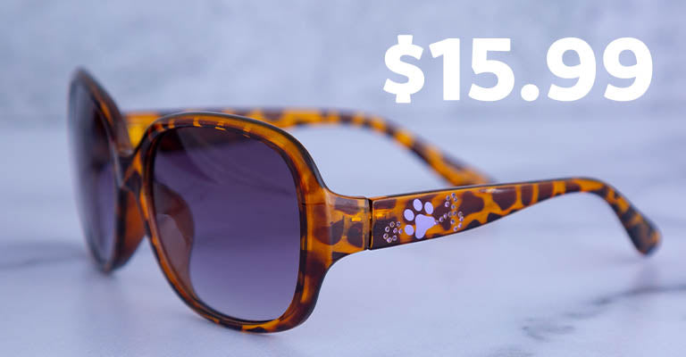 Purely Pawsitive Tortoise Shell Sunglasses |  $15.99
