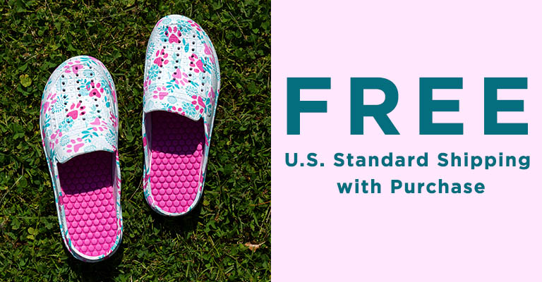 Paw Print Slide Clogs | FREE U.S. Standard Shipping with Purchase