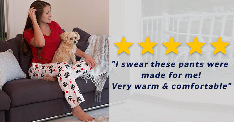 Loving Paws Flannel Pajama Pants | Five Stars