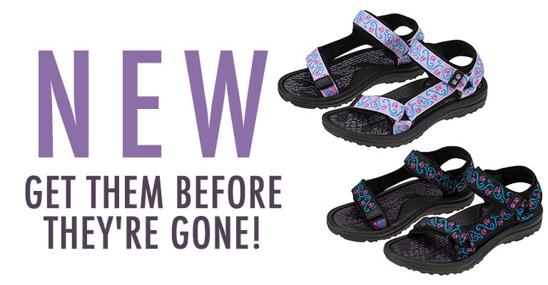 Walking Paws River Sandals | New! Get them before they're gone!