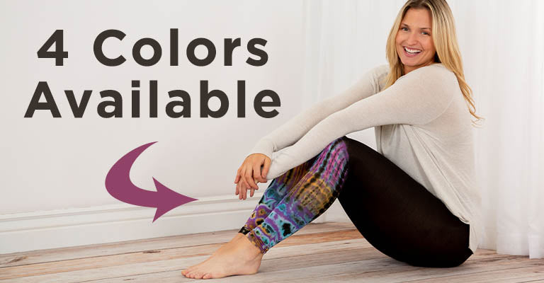 Tie-Dye Dip Leggings | 4 Colors Available