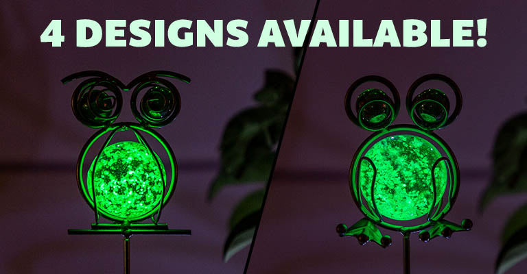 Illuminarie Glow-in-the-Dark Pet Pot Sticker | 4 Designs Available!