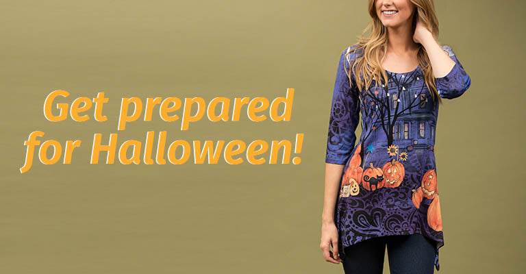 Halloween Night Tunic | Get Prepared for Halloween