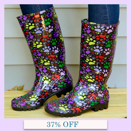 Paws Galore Ultralite™ Rain Boots - 37% OFF