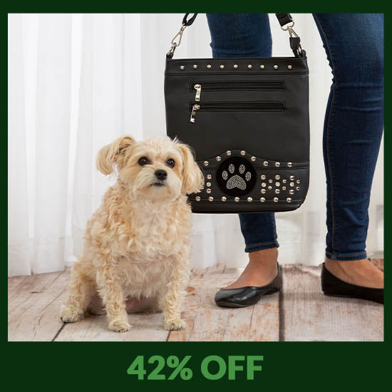 Midnight Bling Paw Purse - 42% OFF