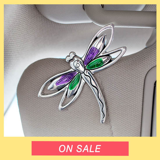 Just Believe Dragonfly Visor Clip - On Sale