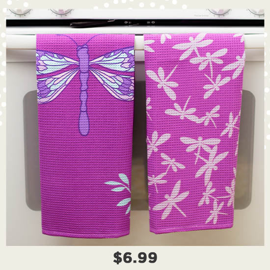 Just Believe Kitchen Towels - Set of 2 - $6.99