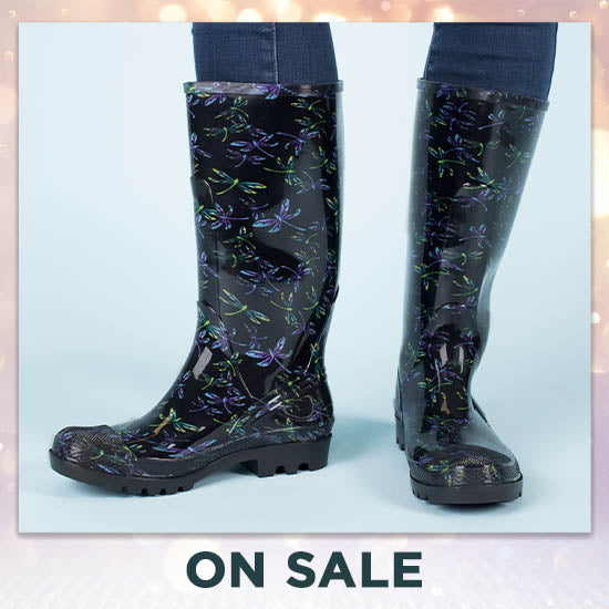 Ultralite™ Flight of the Dragonfly Rain Boots - On Sale