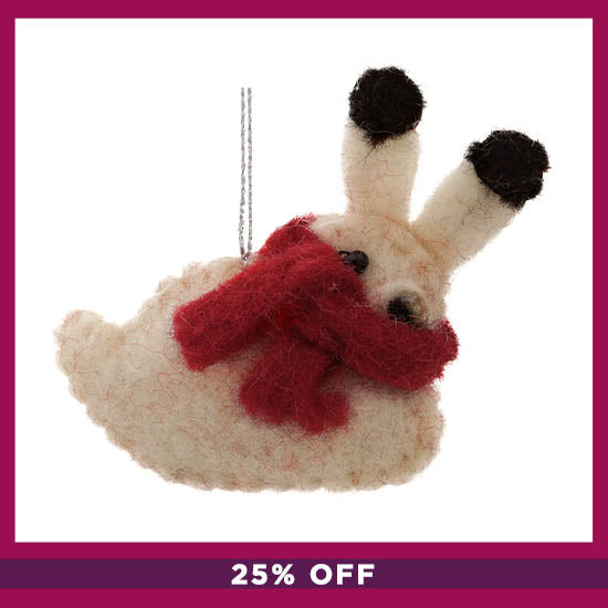 Felt Woodland Ornament - 25% OFF