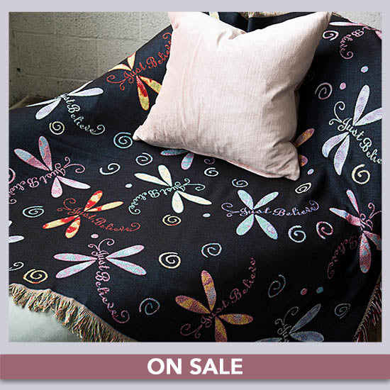 Dragonfly Tapestry Throw Blanket - On Sale