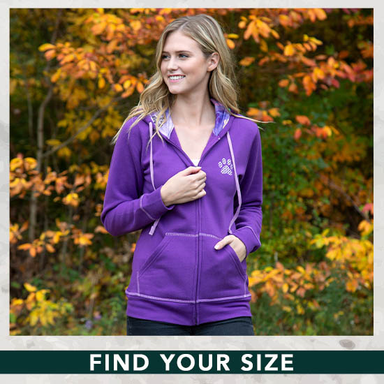 Rainbow Paws Zip Hoodie - Find Your Size