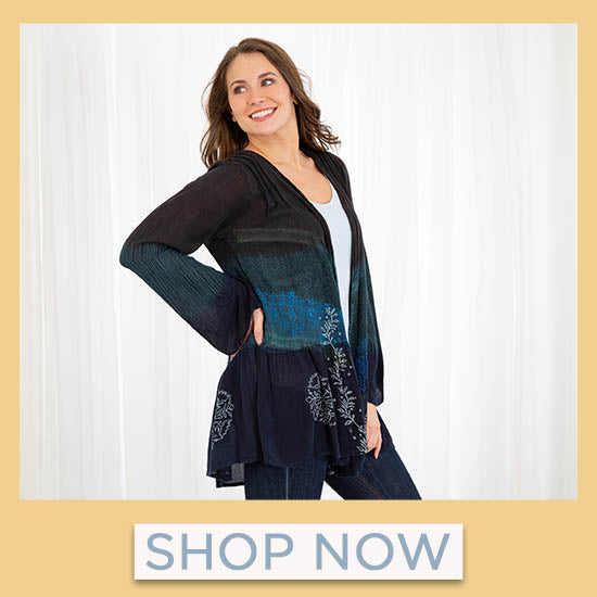 Earth & Sky Open-Front Cardigan - Shop Now