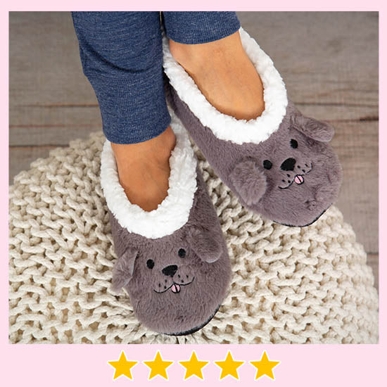 Super Cozy™ Fleece Pet Slippers - ★★★★★