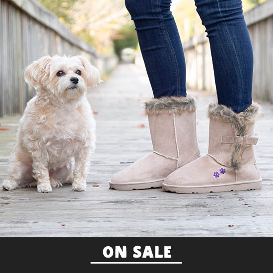Purple Paw Classic Buckle Boot - On Sale