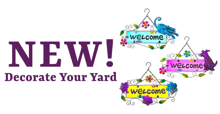 New | Decorate Your Yard