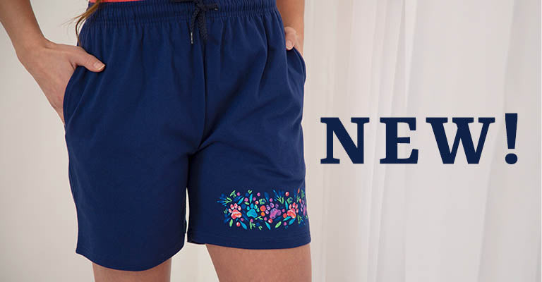 Island Paws Casual Shorts | New!