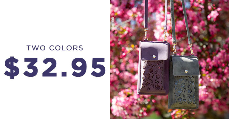 Charming Paws Crossbody Wallet | Two Colors | $32.95