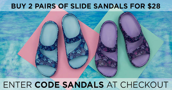 Buy 2 Pairs of Slide Sandals for $28 | SANDAL