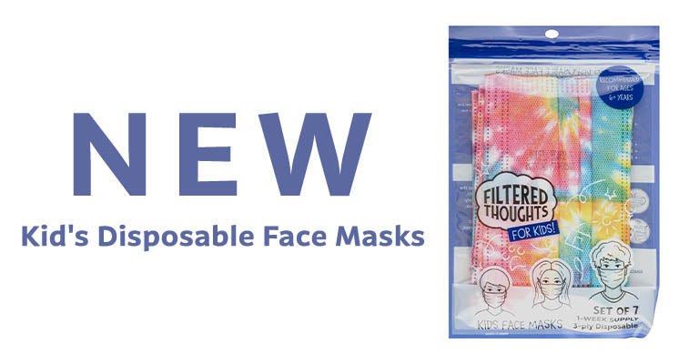 NEW | Kid's Disposable Face Masks
