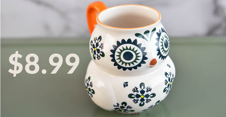 Bright Eyed Owl Mug | $8.99