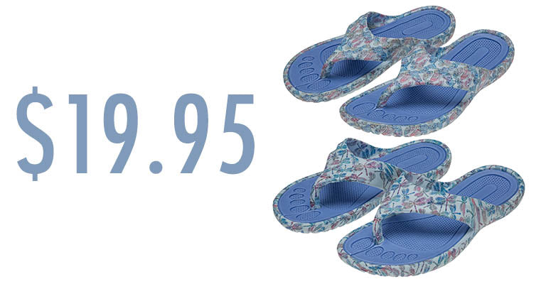 Taking Flight Flip Flops | $19.95