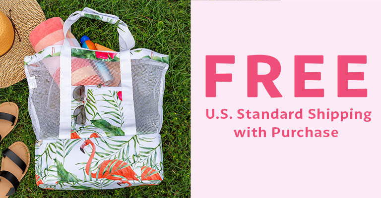 Flamingo Cooler Bag | FREE U.S. Standard Shipping with Purchase