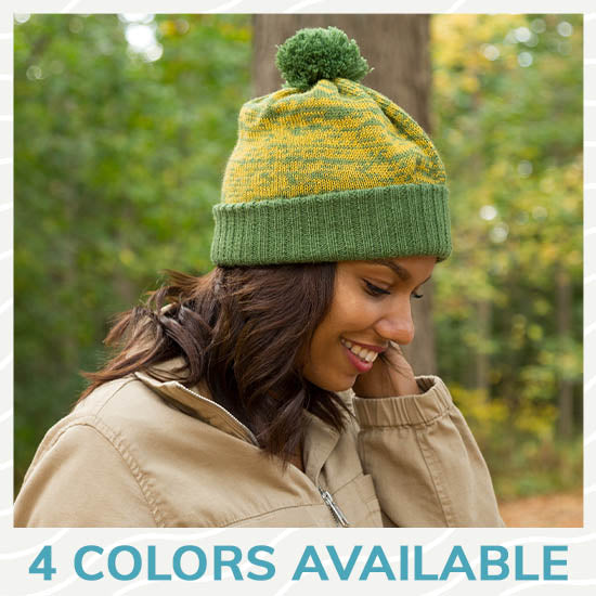 Colorful Alpaca Slouchy Hat - 4 Colors Available