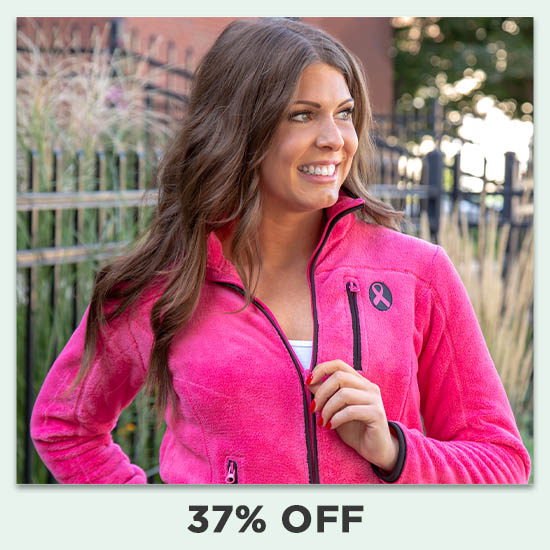 Super Cozy™ Pink Ribbon Pink Everest Cozy Jacket - 37% OFF
