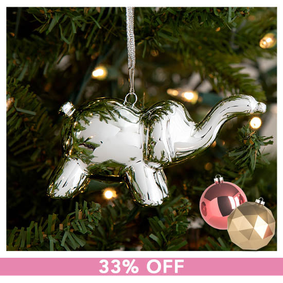 Balloon Elephant Ornament - 33% OFF
