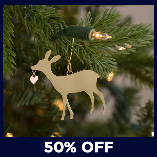 Wildlife Mixed Metal Ornament - 50% OFF