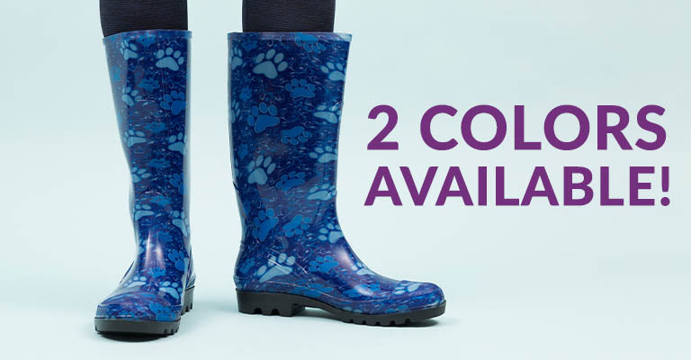 Ultralite™ Pawsitively Lovely Rain Boots   2 Colors Available!