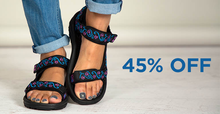 Walking Paws River Sandals | 45% OFF