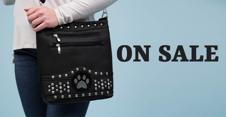 Midnight Bling Paw Purse | On Sale