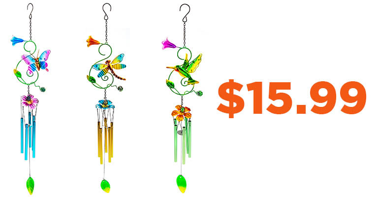 Fluttering Friends Wind Chime | $15.99