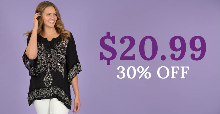 Blooming Sun Ruffle Tunic | $20.99 | 30% OFF