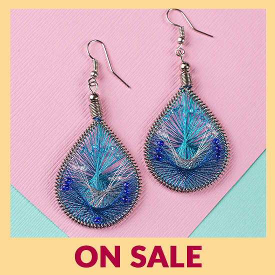 Art of Thread Earrings - On Sale