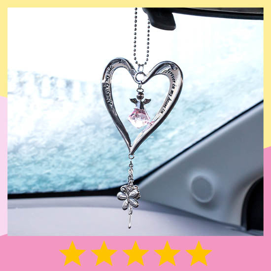 Heart & Angel Car Charm - ★★★★★