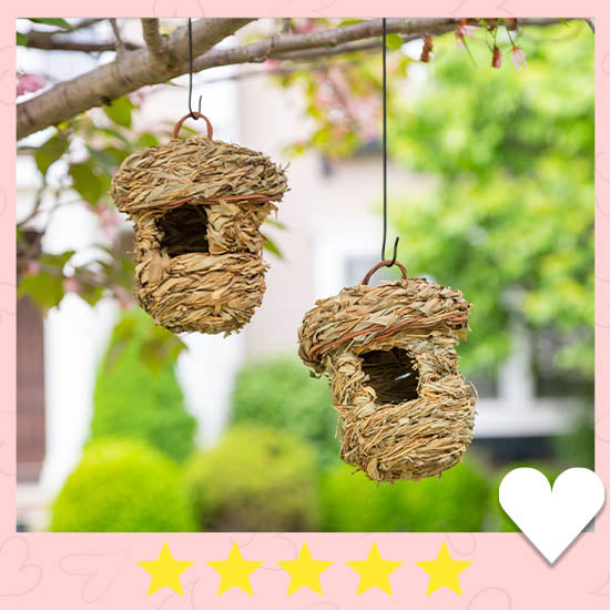 Roosting Pocket Birdhouses Set - ★★★★★