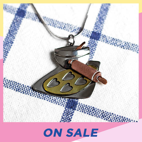Baked with Love Necklace - On Sale