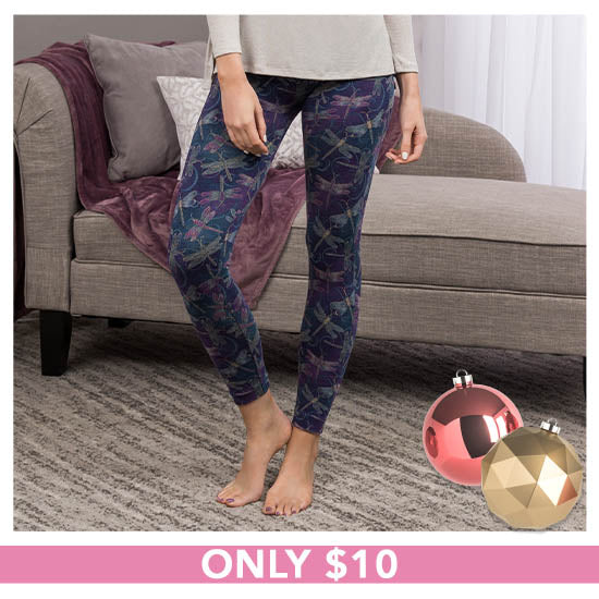 Super Cozy™ Fluttering Friends Leggings - Only $10