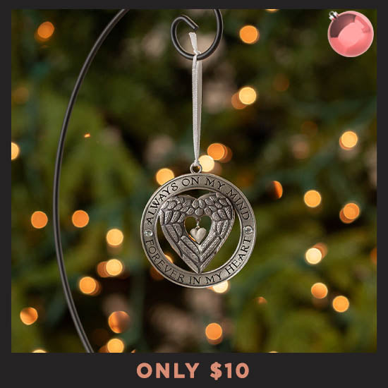 In Loving Memory Angel Wings Ornament - Only $10