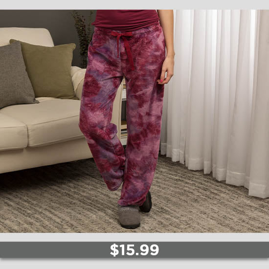 Super Cozy™ Fleece Lounge Pants - $15.99