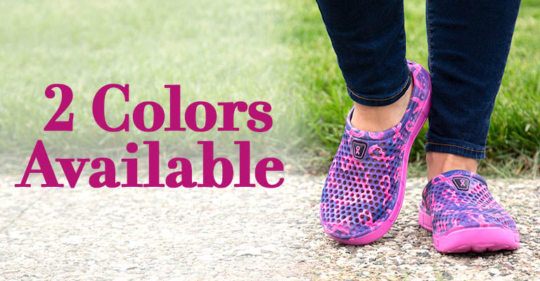 Pink Ribbon Pride Clogs for Women | 2 Colors Available