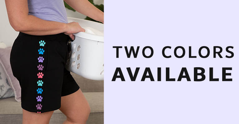 Side Stripe Paw Board Shorts | Two Colors Available