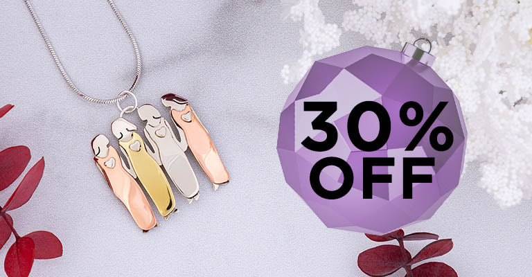 Bond Between Sisters Necklace   30% OFF
