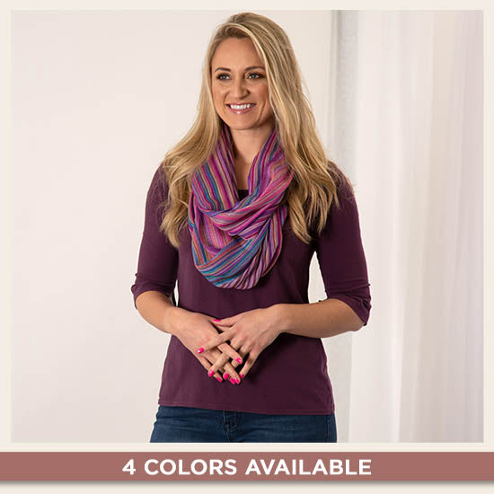 Twilight Skies Infinity Scarf - 4 Colors Available