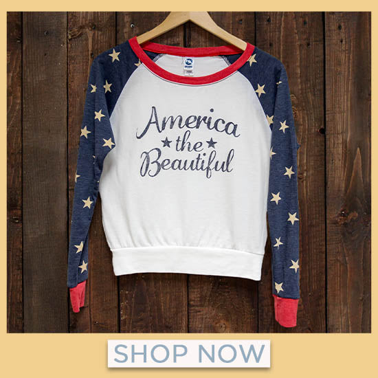 America the Beautiful Long Sleeve Top - Shop Now